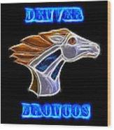 Denver Broncos 2 Wood Print