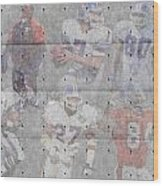 Denver Broncos Legends Wood Print