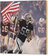 Denver Broncos V Oakland Raiders Wood Print