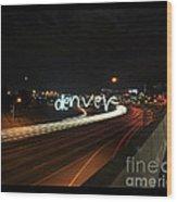 Denver Wood Print