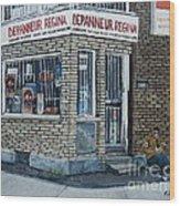 Depanneur Regina Wood Print