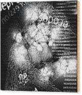 Depression Erodes My Mind Wood Print