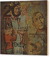 Depression In The 20th Century - 2 Wood Print