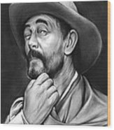 Deputy Festus Haggen Wood Print