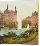 Der Deutsche Ring-cologne-the Rhine-germany -  Between 1890 And  Wood Print