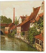 Der Gross Venedig-hildesheim-hanover -germany -  Between 1890 An Wood Print