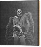 Derangel Wood Print