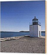 Derby Wharf Lighthouse Wood Print