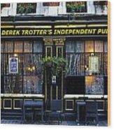 Derek Trotter's Pub Wood Print