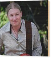 Derek Trucks Wood Print