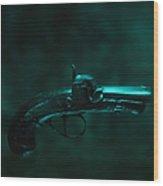 Derringer Wood Print