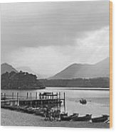 Derwent Water In The Lake District Of England Wood Print