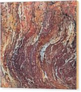 Desert Canyon Wood Print