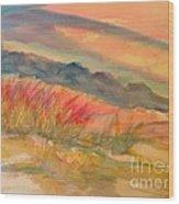 Desert Dreams Wood Print