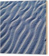 Desert Evening Designs Wood Print