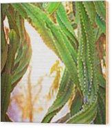 Desert Heat Wood Print