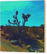 Desert Life  Wood Print
