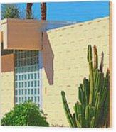 Desert Modern 7 Lakes Palm Springs Wood Print