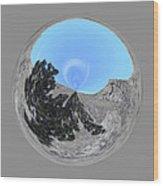 Desert Orb 2 Wood Print