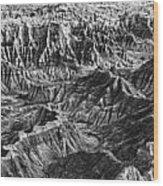 Desert Panorama Wood Print