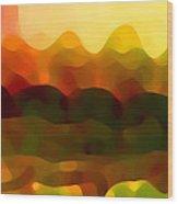 Desert Pattern 5 Wood Print