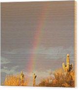 Desert Promise Wood Print