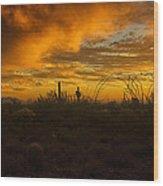 Desert Southwest Skies  Wood Print