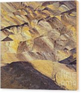 Desert Undulations Wood Print