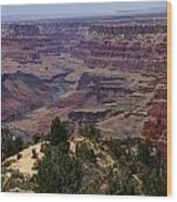 Desert View Grand Canyon Wood Print