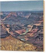 Desert View Wood Print
