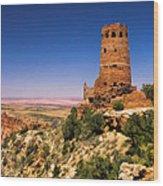 Desert View Watchtower Wood Print