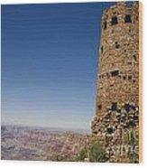 Desert View Watchtower Grand Canyon National Park Arizona Wood Print