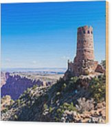 Desert View Watchtower Overlook Wood Print