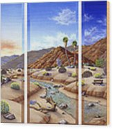 Desert Vista Large Wood Print