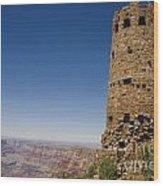 Desert Watchview Tower Grand Canyon Wood Print