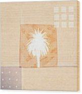 Desert Windows Wood Print