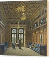 Design For The Grand Reception Room Wood Print