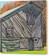 Designer Barn 2 Wood Print