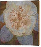 Designer Floral Wood Print
