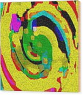 Designer Phone Case Art Colorful Rich Bold Abstracts Cell Phone Covers Carole Spandau Cbs Art 139  Wood Print