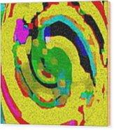 Designer Phone Case Art Colorful Rich Bold Abstracts Cell Phone Covers Carole Spandau Cbs Art 139  Wood Print by Carole Spandau
