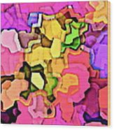 Designer Phone Case Art Colorful Rich Bold Abstracts Cell Phone Covers Carole Spandau Cbs Art 141 Wood Print