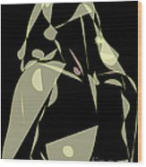 Desire For A ..... Celestial Love... Wood Print