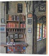 Desk At The Castle Wood Print