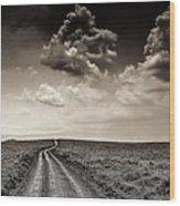 Desolation Road Wood Print