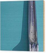 Desoto Fender Chrome   #4792 Wood Print