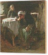 Despair, 1881 Wood Print