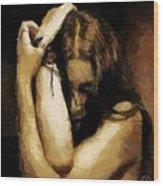 Despair Wood Print by Gun Legler
