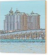 Destin Emerald Grand S1 Wood Print