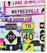 Destination With You By Angelia Wood Print